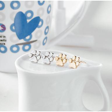 Mulheres Brincos Curtos - Animal Dourado / Prata / Ouro Rose Para Natal / Casamento / Aniversário / Noivado / namorados