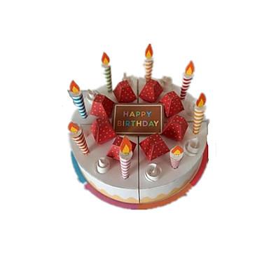 voordelige 3D-puzzels-3D-puzzels Speelgoedeten Papierkunst Voedsel Cake Dessert levensecht Kindveilig DHZ Muovi Klassiek Kinderen Unisex Speeltjes Geschenk