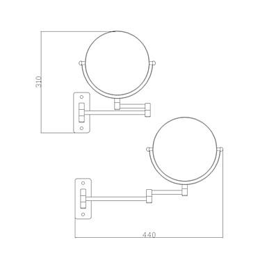 Gadget de Banheiro Moderno / Contemporâneo Latão Aço Inoxidável 1 Pça. - Ferramentas acessórios de chuveiro
