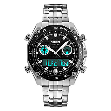Smartwatch YYSKMEI1204 for Long Standby / Water Resistant / Water Proof / Multifunction / Sports Stopwatch / Alarm Clock / Chronograph / Calendar / Dual Time Zones