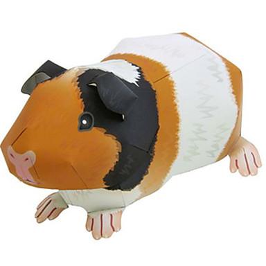 Quebra-Cabeças 3D Maquetes de Papel Brinquedos de Montar Quadrada Animais Faça Você Mesmo Cartão de Papel Duro Clássico Unisexo Dom