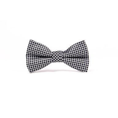 Men's Grid Bow Tie - Check