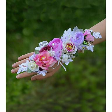 Bouquets de Noiva Buquê de Pulso Casamento Algodão 1.97