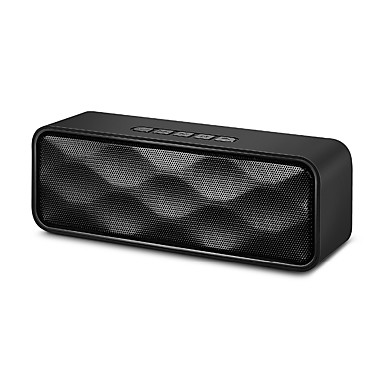SLF Portable Wireless Bluetooth Speaker Outdoor Portable Double Hhorn Subwoofer Audio support TF USB