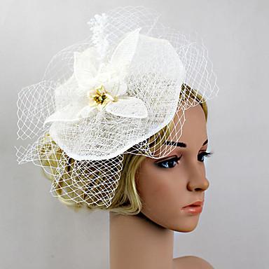 plast fascinators blomster headpiece klassisk feminin stil