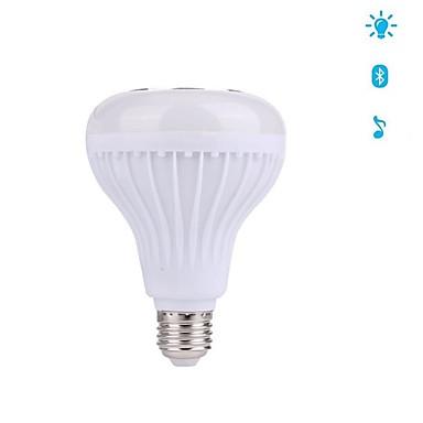 12W E27 LED Smart Bulbs 28 LEDs SMD Bluetooth Dimmable Decorative RGB 1000lm 3000/6000K AC100-240V