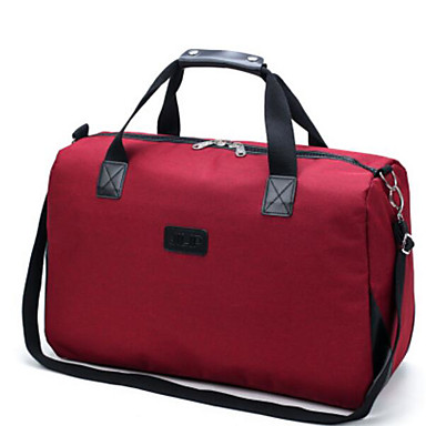 Women Bags All Seasons Oxford Cloth Polyester Travel Bag for Casual Outdoor Blue Black Red Gray