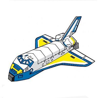 3D-puslespill Papirmodell Modellsett Papirkunst Leketøy Kvadrat Luftkraft Skip 3D GDS Hardt Kortpapir Unisex Deler