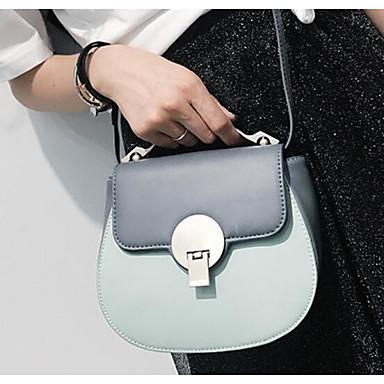 Women Bags All Seasons PU Shoulder Bag for Casual Outdoor Black Gray Brown