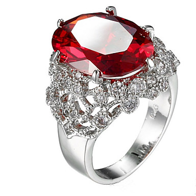 Women's Ring Settings Ring Band Ring Cubic Zirconia Rhinestone Personalized Luxury Geometric Unique Design Classic Rhinestone Basic Sexy