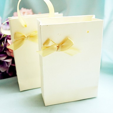 Cuboid Card Paper Favor Holder with Pattern Favor Boxes / Favor Bags / Favor Tins and Pails - 12