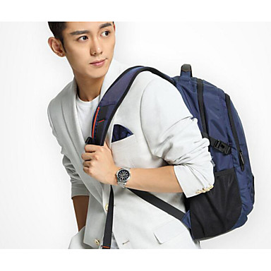 Men Shoulder Bag Polyester All Seasons Casual Outdoor Square Zipper Blue Black