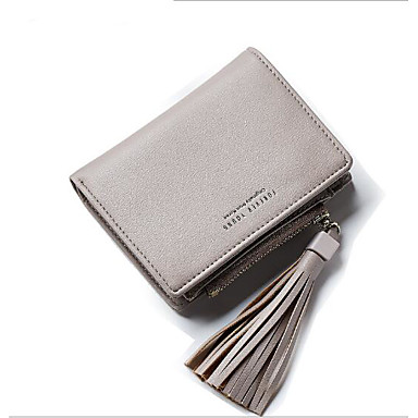 Women Coin Purse PU Polyester All Seasons Casual Outdoor Square Without Zipper Blue Black Gray