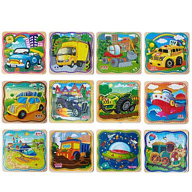 Quebra-Cabeça Quebra-Cabeças de Madeira Jogos de Madeira Modelos de madeira Brinquedo Educativo Quadrada De madeira Madeira Crianças Dom