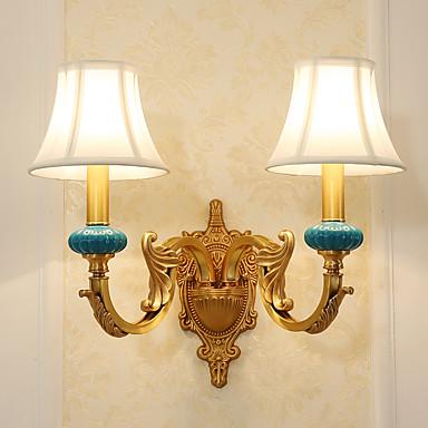 Inventivo Stile Tiffany - Semplice - Paese Lampade Da Parete Metallo Luce A Muro 110-120v - 220-240v 5w #06021348 Vari Stili