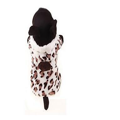 Koira Takit Koiran vaatteet Rento/arki Geometrinen Leopardi