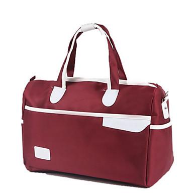 Unisex Bags All Seasons Oxford Cloth Travel Bag for Casual Sports Outdoor Blue Dark Blue Fuchsia Wine