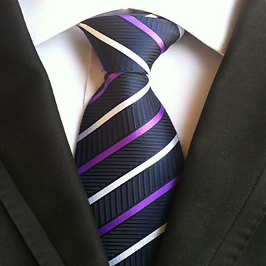 Men's Neckwear Stripes Necktie - Striped