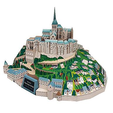 3D palapeli Paperimalli Pienoismallisetit Kuuluisa rakennus DIY Kova kartonki Klassinen Lasten Unisex Lahja