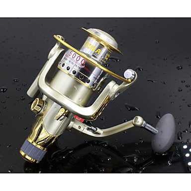 Fishing Reel Bearing Spinning Reels 4.7:1 10 Ball Bearings Exchangable Sea Fishing Freshwater Fishing Lure Fishing General Fishing