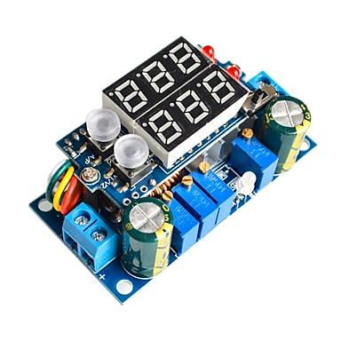 Solcellepanel mppt kontroller 5a dcdc digital display trykk konstant strøm konstant strøm ladning