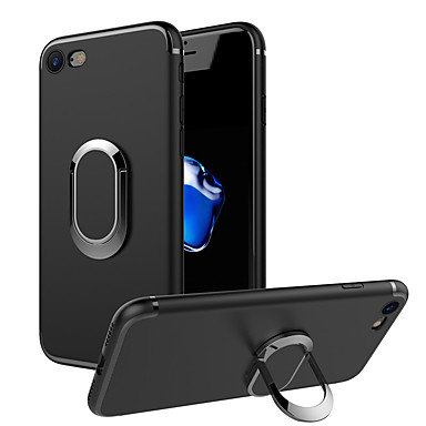 Case For Apple iPhone 7 Plus iPhone 7 Ring Holder Back Cover Solid Color Soft TPU for iPhone 7 Plus iPhone 7 iPhone 6s Plus iPhone 6s