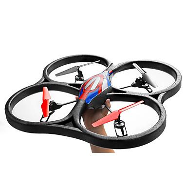RC Drone WL Toys V262 4CH 6 Eixos 2.4G Quadcópero com CR Luzes LED Retorno Com 1 Botão Auto-Decolagem Seguro Contra Falhas Modo Espelho