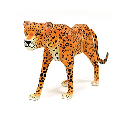 Quebra-Cabeças 3D Maquetes de Papel Artesanato de Papel Brinquedos de Montar Animais Faça Você Mesmo Cartão de Papel Duro Clássico