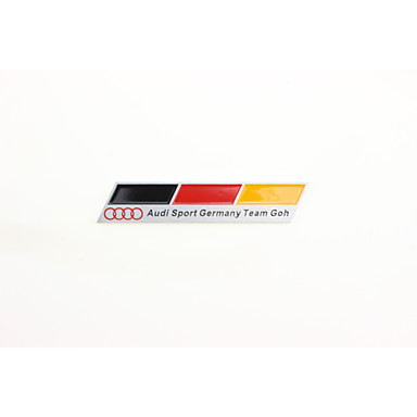 Alloy Auto Sticker Decal Emblem Badge