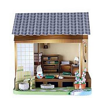 Quebra-Cabeças 3D Maquetes de Papel Artesanato de Papel Brinquedos de Montar Construções Famosas Casa Arquitetura Faça Você Mesmo