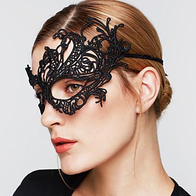Kadın's Vintage Parti Zarif Gotik Düğün Dantel Maske