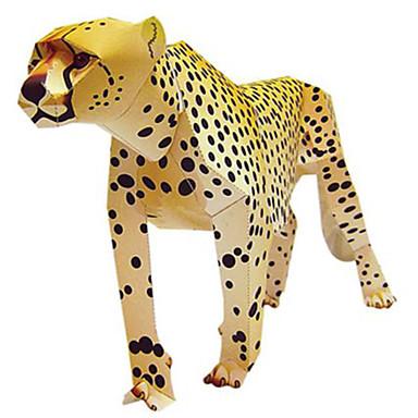 3D palapeli Paperimalli Pienoismallisetit Neliö Eläimet DIY Kova kartonki Klassinen Unisex Lahja