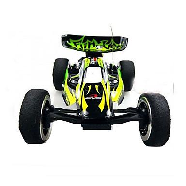 Carro com CR WL Toys 2307 Canal 4 2.4G Go-kart / 4WD / Alta Velocidade 1:24 KM / H Velocidades variáveis / Controlo Remoto / Recarregável