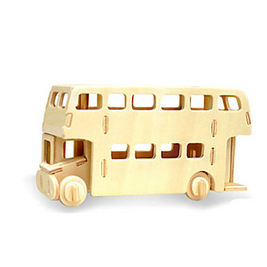 voordelige 3D-puzzels-3D-puzzels Legpuzzel Houten modellen Dinosaurus Vliegtuig Bus DHZ Puinen Klassiek Kinderen Unisex Speeltjes Geschenk