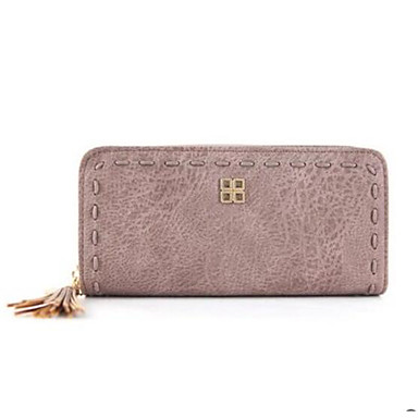 Women Coin Purse PU All Seasons Casual Outdoor Round Without Zipper Black Blushing Pink Gray