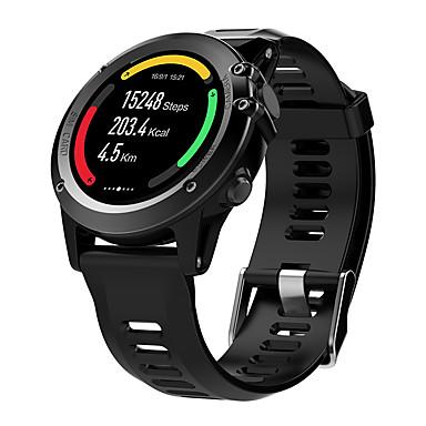 Smart Watch Kosketusnäyttö Sykemittari Vedenkestävä Poltetut kalorit Askelmittarit Liikuntavihko Pitkä valmiustila Monikäyttö Ääniohjaus