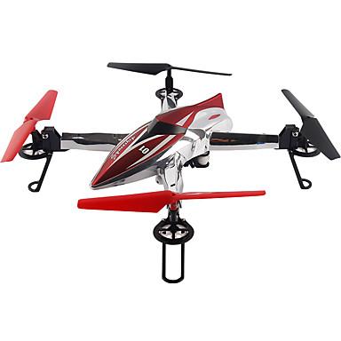 RC Drone WL Toys Q212G 4CH 6 Eixos 2.4G Com Câmera HD 720P Quadcópero com CR FPV Luzes LED Retorno Com 1 Botão Seguro Contra Falhas Modo
