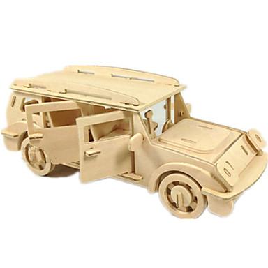 Toy Car 3D Puzzles Jigsaw Puzzle Wood Model Plane / Aircraft Car 3D DIY Wood Classic SUV Boys' Unisex Gift