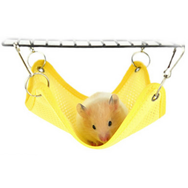 Rodents Textile Beds Yellow Blue Pink