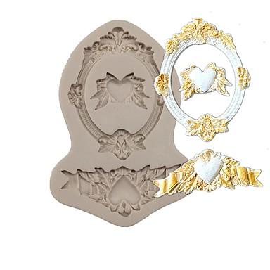 1 Cake Moulds Sjokolade For kjøkkenutstyr Til Sjokolade Til Kake Til Småkaker Til Småkake Silikon Gummi Silikon Silika Gelbaking Tool 3D