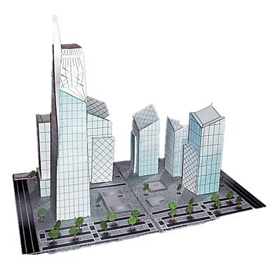 Quebra-Cabeças 3D Artesanato de Papel Construções Famosas Arquitetura Faça Você Mesmo Cartão de Papel Duro Clássico Crianças Para Meninos