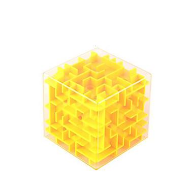 Cubos mágicos Labirinto Quebra-Cabeças Labirinto 3D Brinquedo Educativo Brinquedos 3D Plásticos Crianças Peças