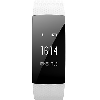 YYA89 Pulseira inteligente Android iOS Bluetooth Impermeável Monitor de Batimento Cardíaco Medição de Pressão Sanguínea Tela de toque Pulso Rastreador Podômetro Monitor de Atividade Monitor de Sono