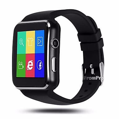 سمارت ووتش YYX6 إلى Android iOS بلوتوث GPS رياضات شاشة لمس رمادي داكن إسبات الطويل متتبع النشاط متتبع النوم تذكير المستقرة أجد هاتفي / مكالمات بدون يد / 0.3 MP / عداد الخطى / iPhone