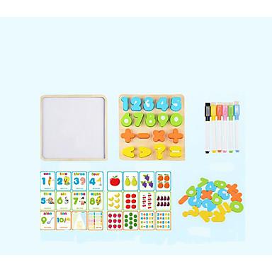Blocos de Construir Quebra-Cabeça Brinquedos Matemáticos Brinquedo Educativo Quadrada Legal Crianças Brinquedos Dom