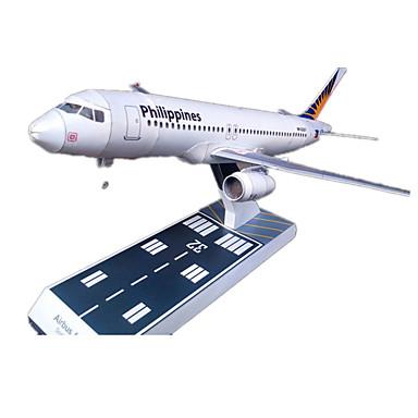 Quebra-Cabeças 3D Maquetes de Papel Artesanato de Papel Brinquedos de Montar Aeronave Simulação Faça Você Mesmo Cartão de Papel Duro