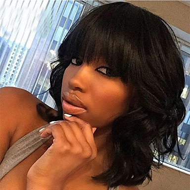 Human Hair Lace Wig Body Wave Lace Front Glueless Lace Front 100% Hand Tied African American Wig Natural Hairline 130% Density Natural