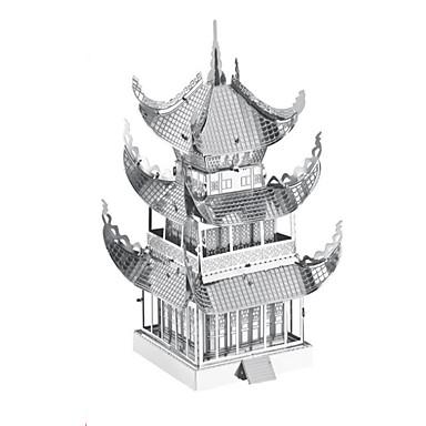 voordelige 3D-puzzels-3D-puzzels Legpuzzel Metalen puzzels Tank Kasteel Beroemd gebouw Metallic Aluminium Kinderen Tiener Jongens Speeltjes Geschenk