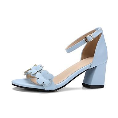 Mulheres Sapatos Couro Envernizado Verão Sapatos formais Solados com Luzes Sapatos para Daminhas de Honra Chanel Conforto Sandálias