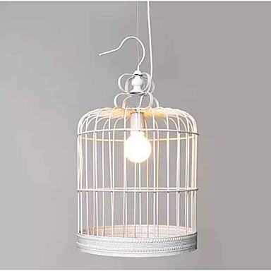 3W Pendant Light   Traditional/Classic Painting Feature for Mini Style Wood/BambooLiving Room / Bedroom / Dining Room / Study